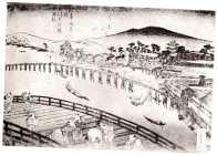 BN0382942X-1-36「浪華風景之内」  「大川」「天神橋」「天満橋」・・『』
