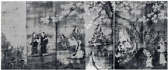 Z0162-020(2)・・狩野 長信(国宝 花下遊宴図)