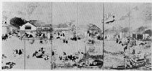 Z0162-105(1)・・-(南蛮人来朝図)