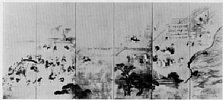 Z0162-105(2)・・-(南蛮人来朝図)