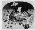 Z0172-404天保03・・国貞〈1〉「坂東三津五郎」
