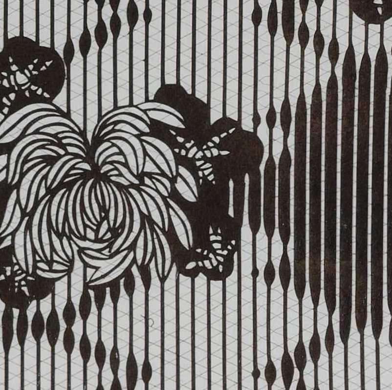 「菊に松皮菱」KTS05331
