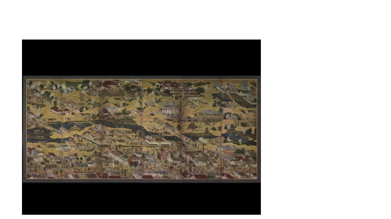 洛中洛外図・祭礼図屏風