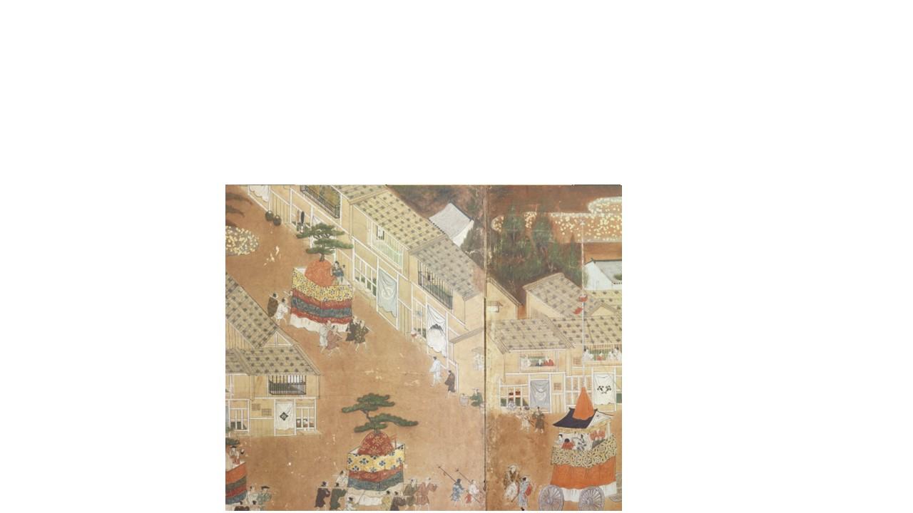ARC 祇園祭巡行図屏風