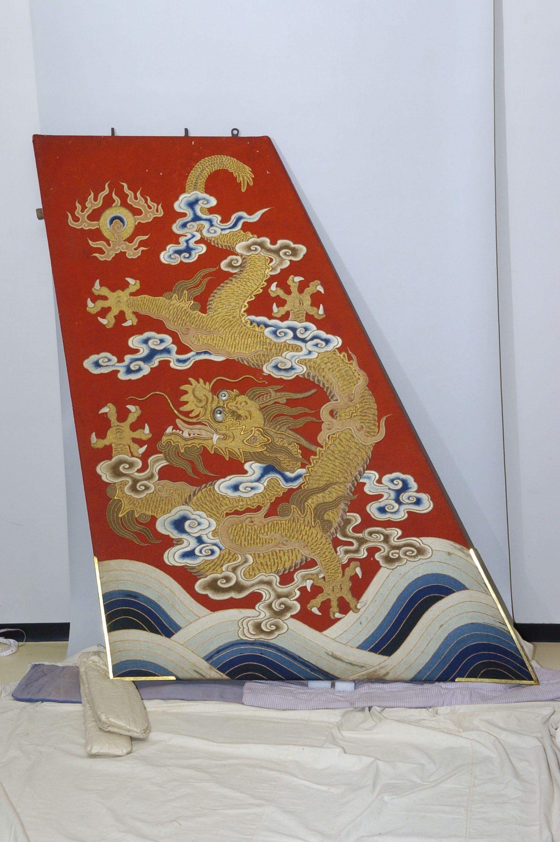 大船鉾の懸装品