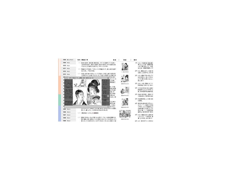 近代日本の身装電子年表
